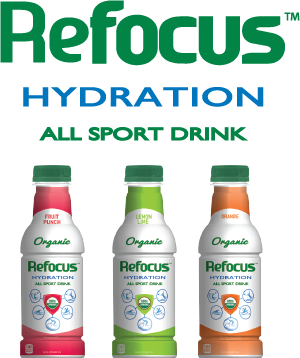 refocus� hydration all sport drink